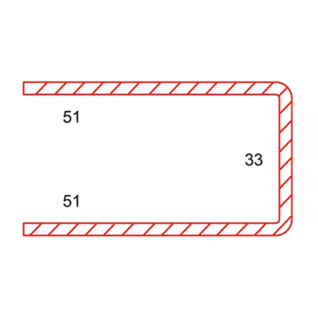 DOOR SASH STEEL REINFORCEMENT