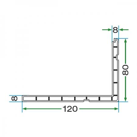 80x 120 BORDER PROFILE